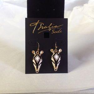 Thalia Sodi Zebra Earrings